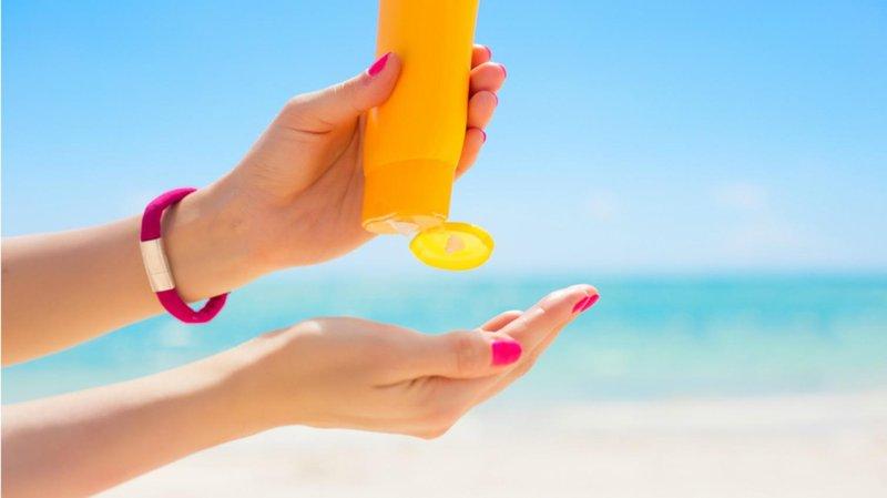 2. gunakan sunscreen sebagai pelindung