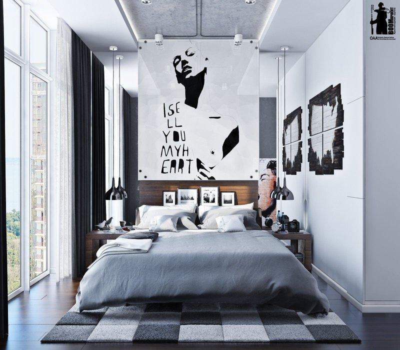 Kamar minimalis remaja urban