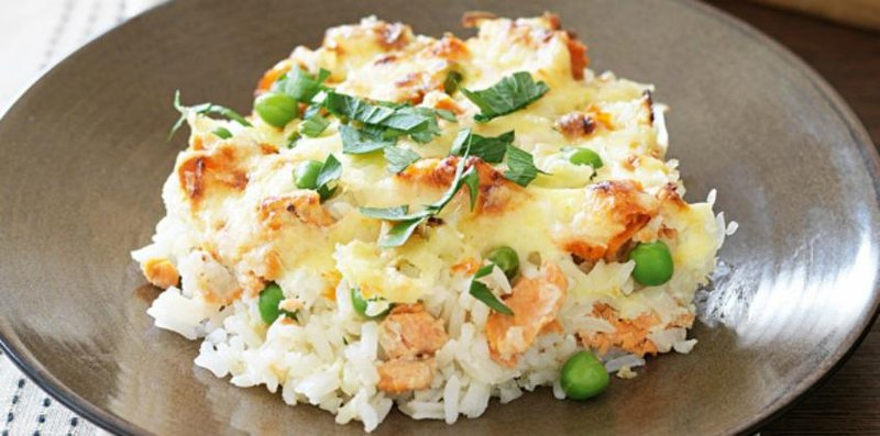 1 body teks baked rice