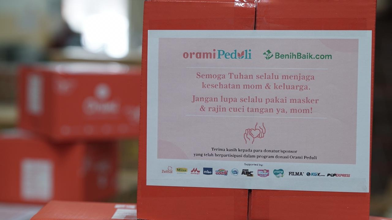 1000 Bantuan Sembako & Keperluan Bayi oleh Orami Community dan Benih Baik, Tersalurkan! 02.png