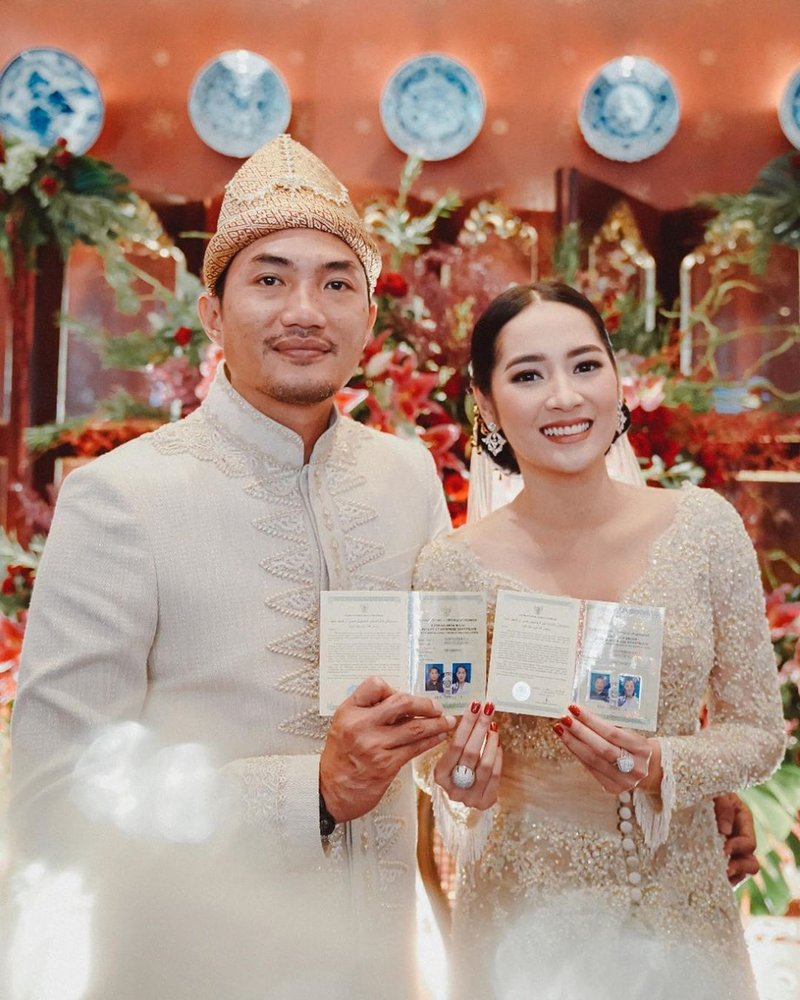 Niken Anjani Menikah di Tengah Pandemi dengan Protokol Covid-19