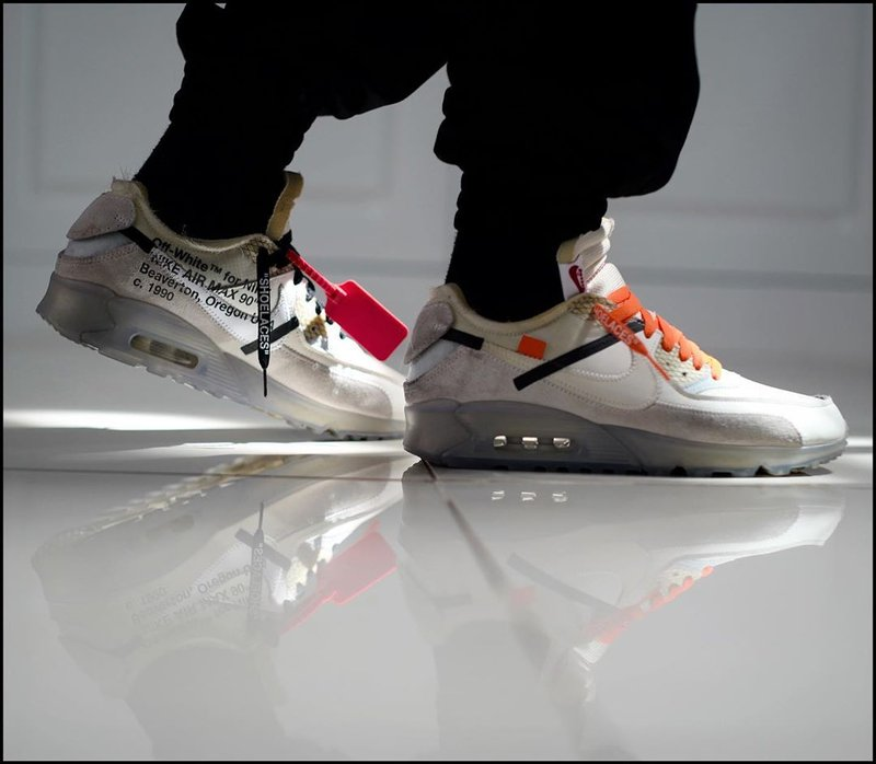 sneakers Gading Marten-nike air max off white