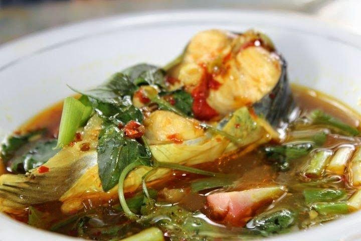 makanan khas sumatera selatan pindang patin