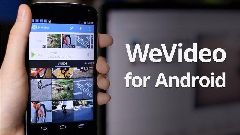 aplikasi edit video We Video