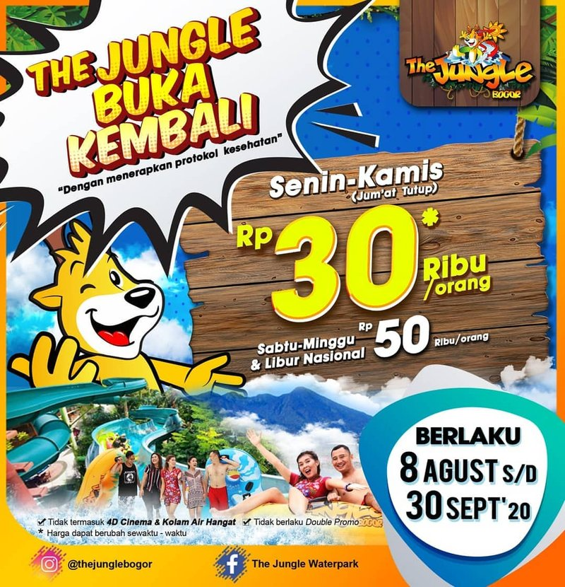 artikel weekend-The Jungle Bogor