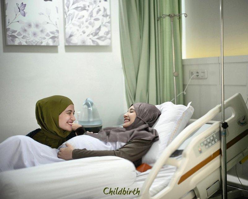Zaskia Sungkar melahirkan