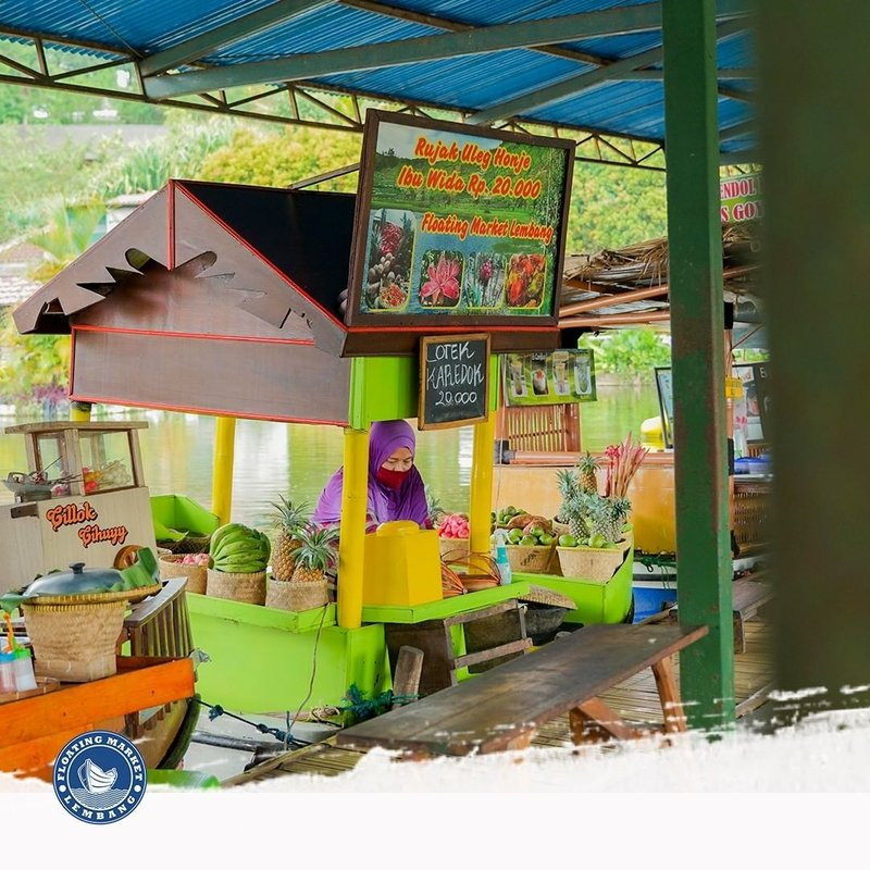 wisata Lembang-floating market