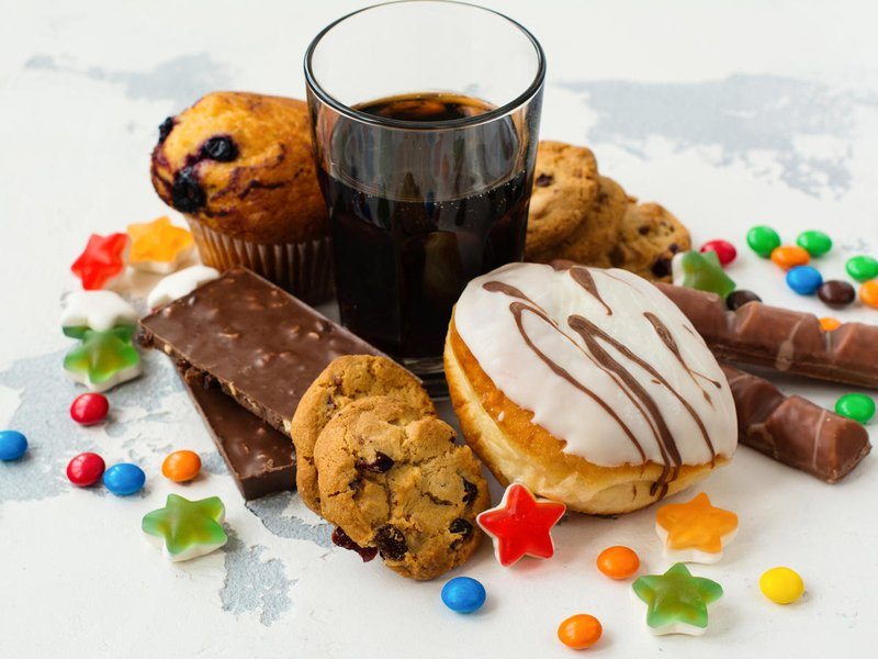 makanan untuk penderita neuropati yang dilarang: gula