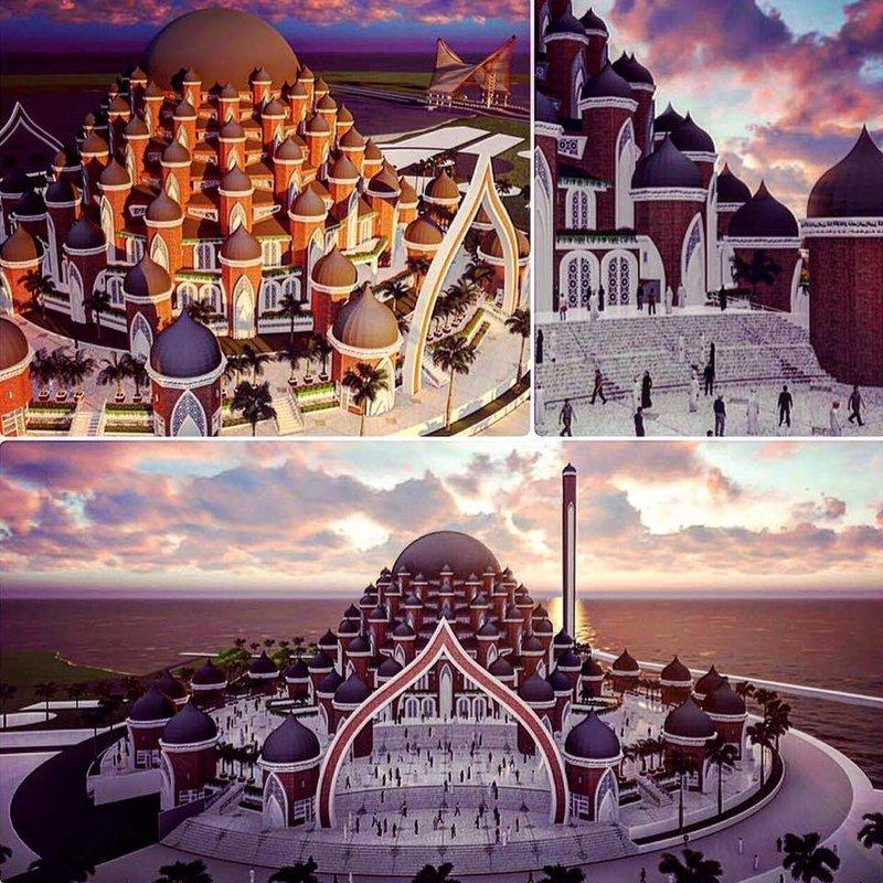 masjid unik karya ridwan kamil