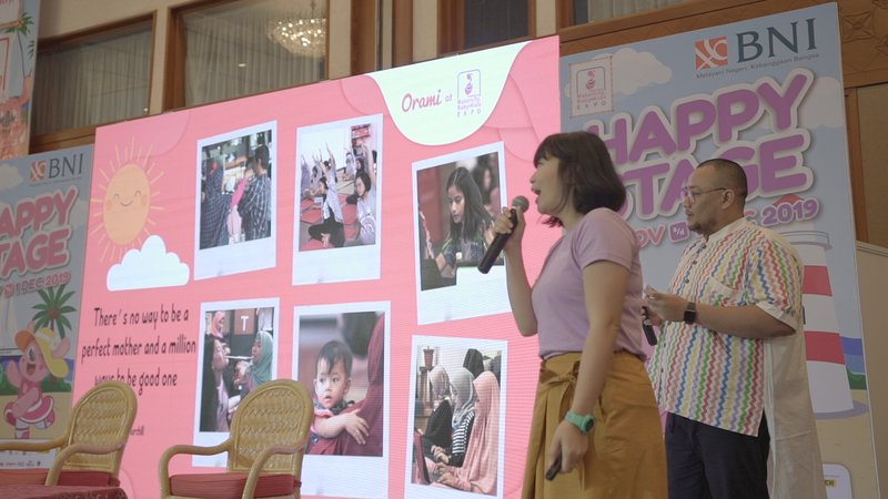 Soft Launching Orami Parenting