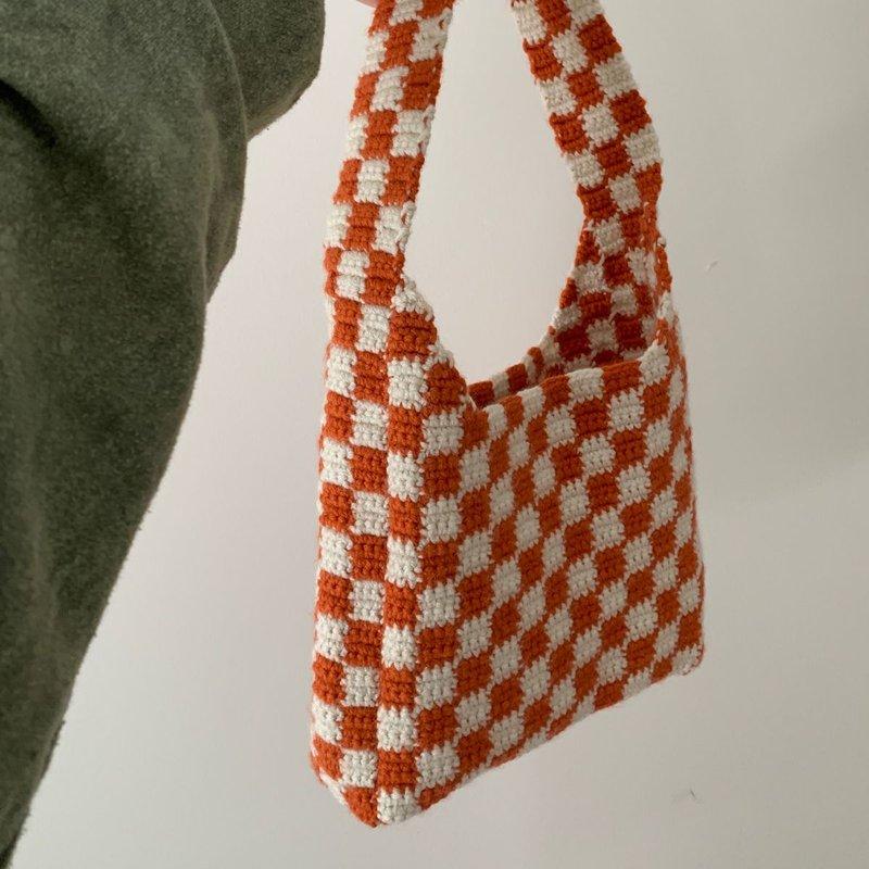 cara membuat tas rajut