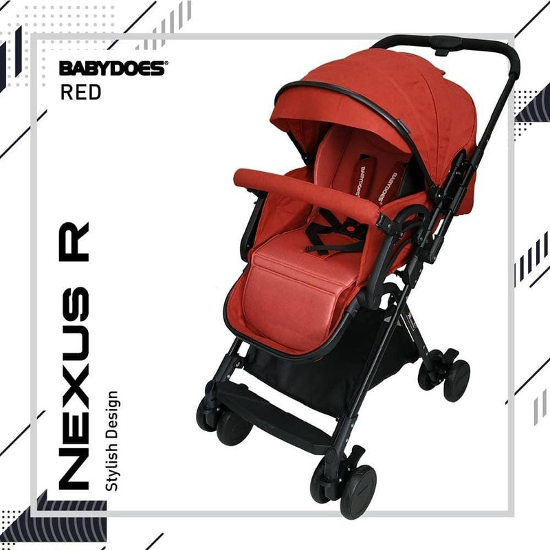 review stroller Babydoes Nexus