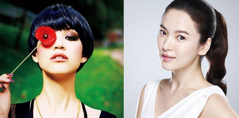 2 body teks beauty koreanvs japan makeup eyes