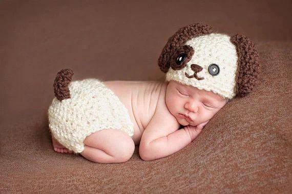 2014 newborn handmade crochet infant baby boy girl caps photography props knitted hats diy photo prop