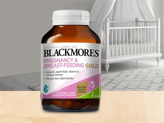 Blackmores i-Folic khusus untuk ibu hamil dan menyusui
