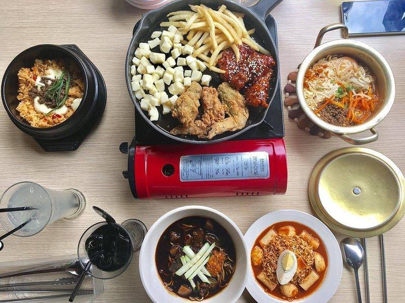 resto korea di bandung