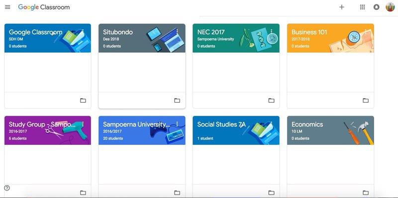panduan menggunakan google classroom untuk PJJ
