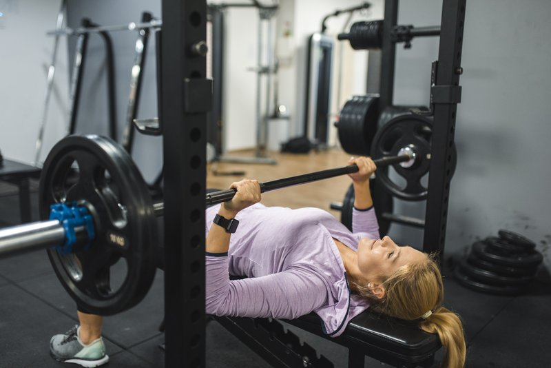 olahraga untuk menggemukan bench press