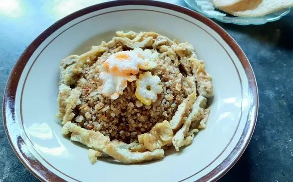 nasi goreng tiwul