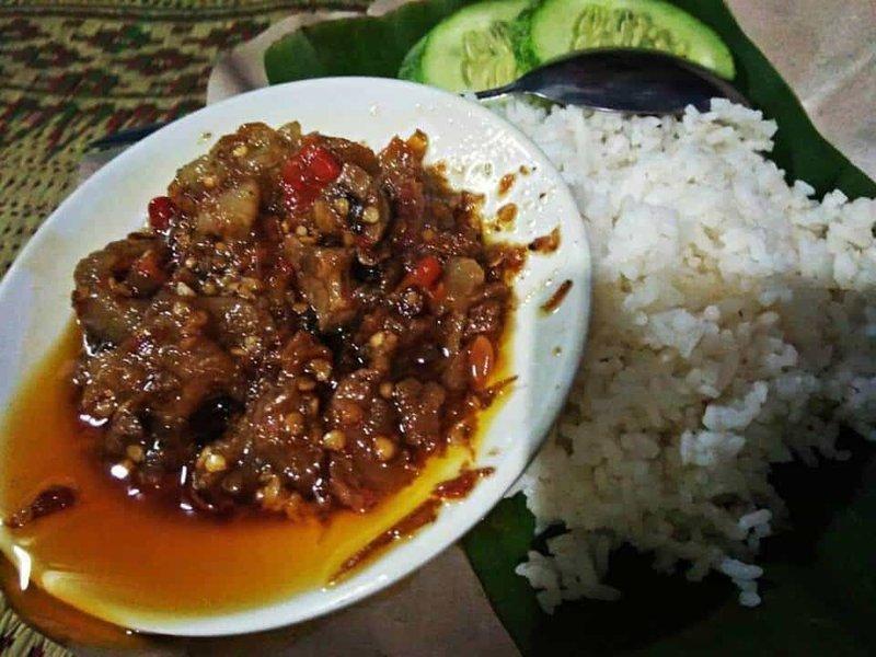 makanan khas yogya oseng mercon
