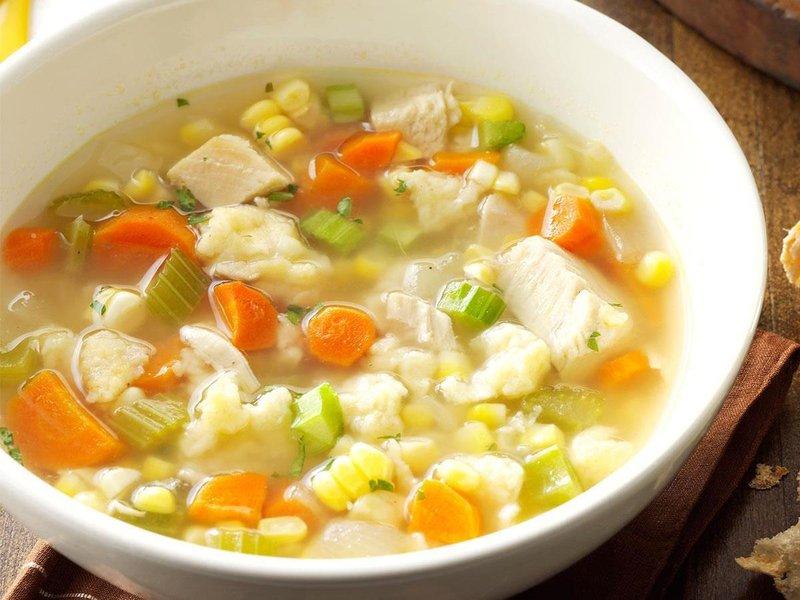 3 sup ayam