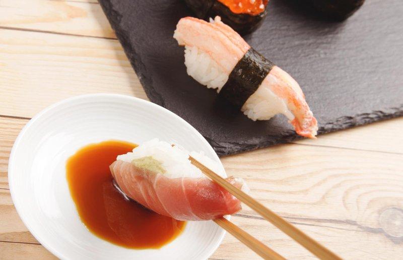3 sushi