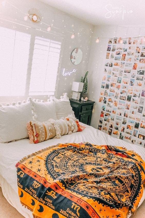 Kamar minimalis remaja french