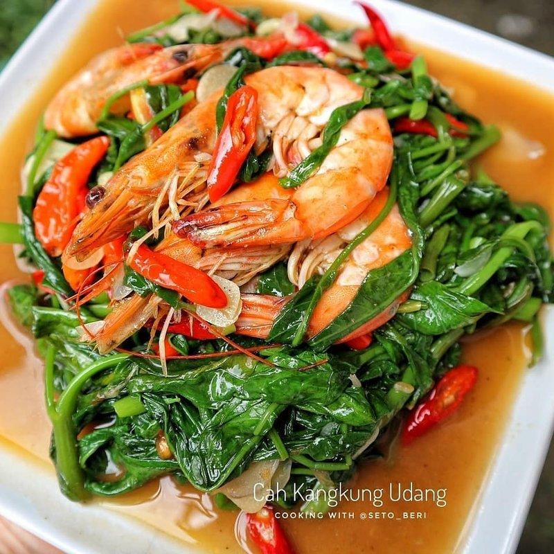 Cah Kangkung Udang