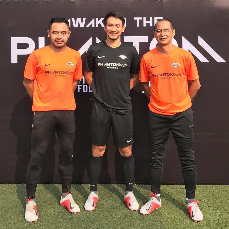 artis Indonesia penggemar sepakbola-Vincent