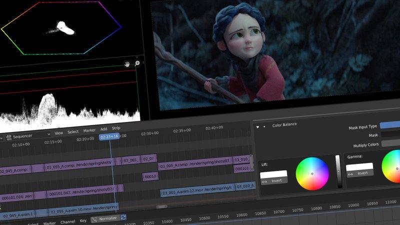 aplikasi edit video blender