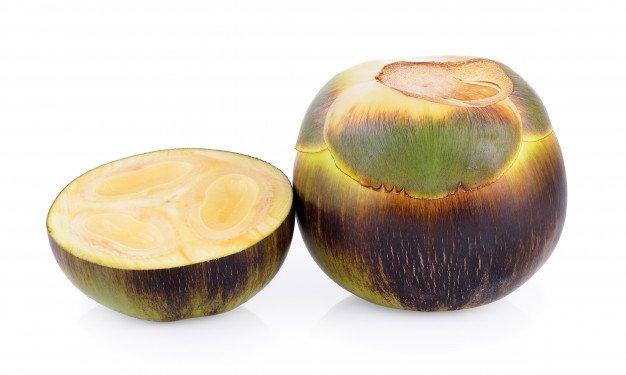 buah siwalan untuk kulit