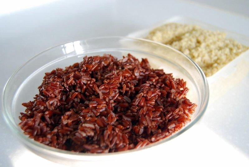 4 nasi merah