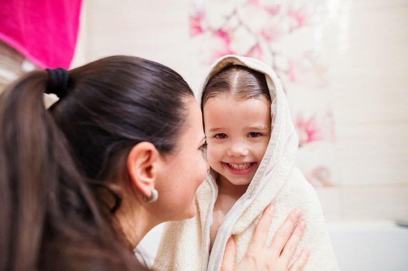 Jaga kebersihan handuk anak