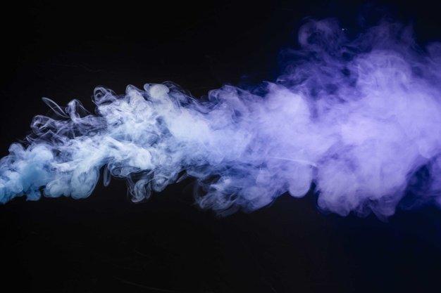 Ilustrasi asap rokok