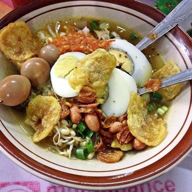 makanan khas madiun soto