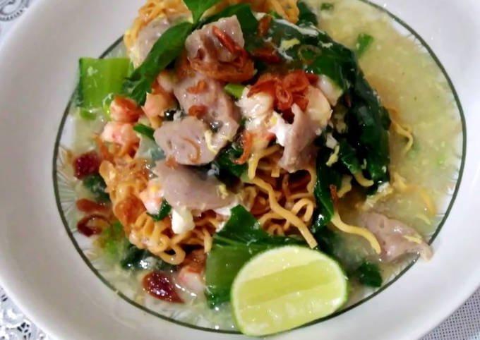 Resep mie Titi seafood