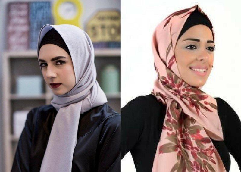 4 tips memakai hijab sesuai bentuk wajah 3