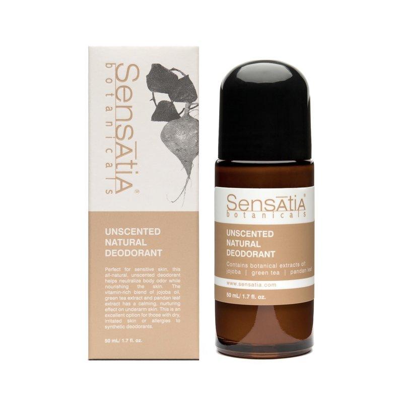 Sensatia Botanicals Unscented Natural Deodorant