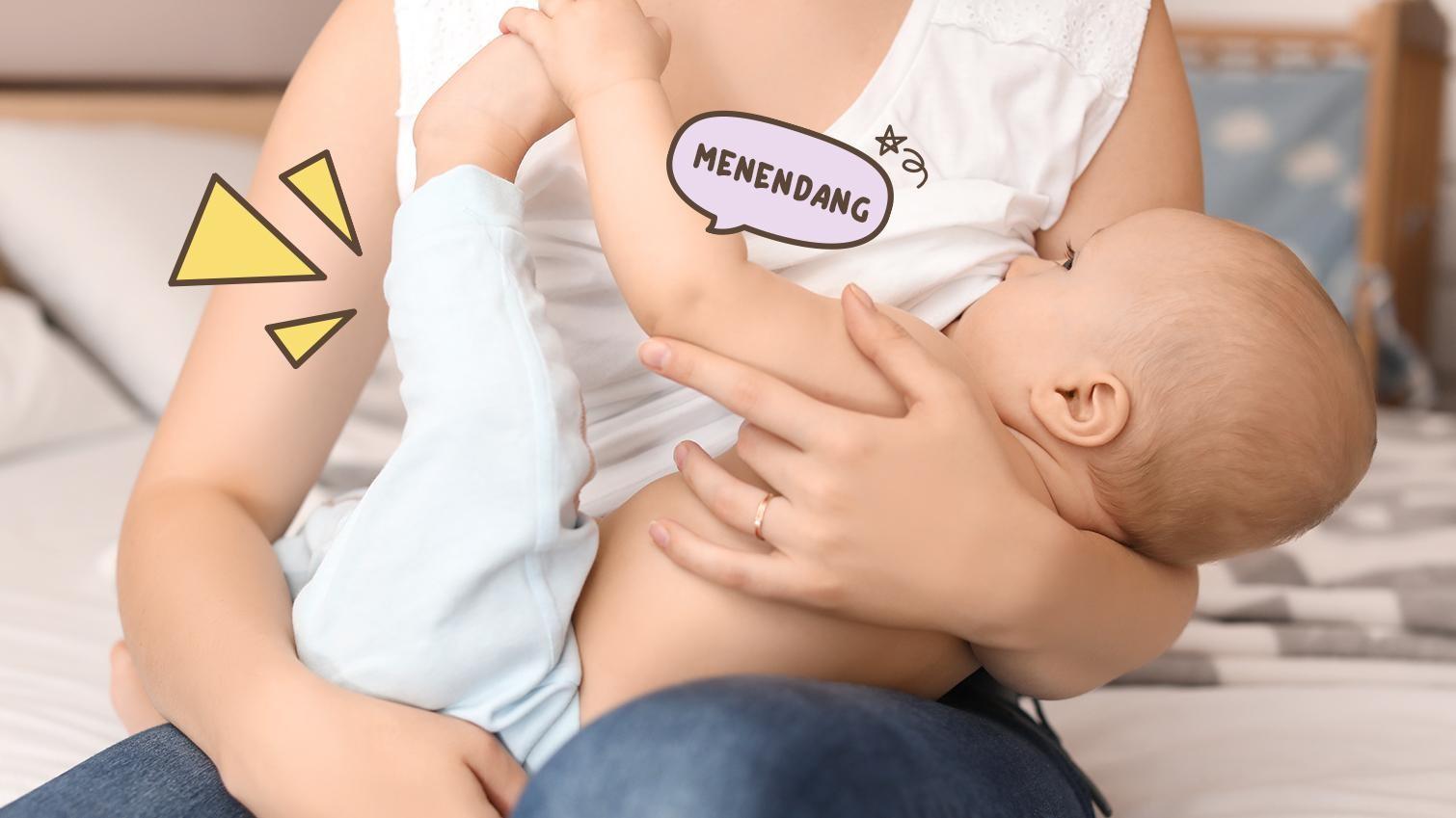 5 Momen Lucu Yang Dilakukan Bayi Saat Menyusui