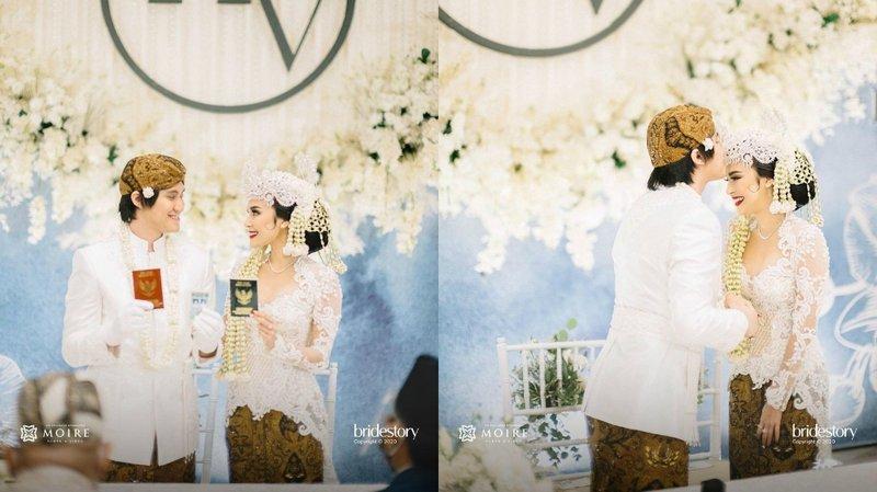 5 Potret Acara Pernikahan Kevin Aprilio dan Vicy Melanie.jpg