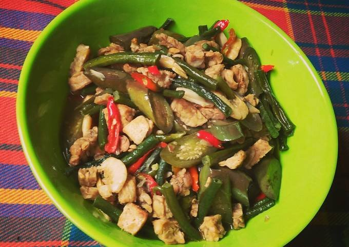 makanan khas medan, sayur gurih tauco