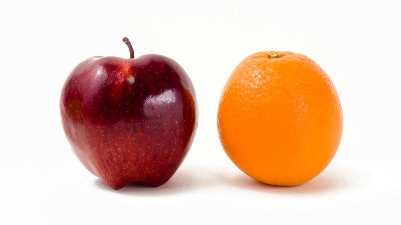 5 makanan ini akan memperkuat gigi balita apel dan jeruk