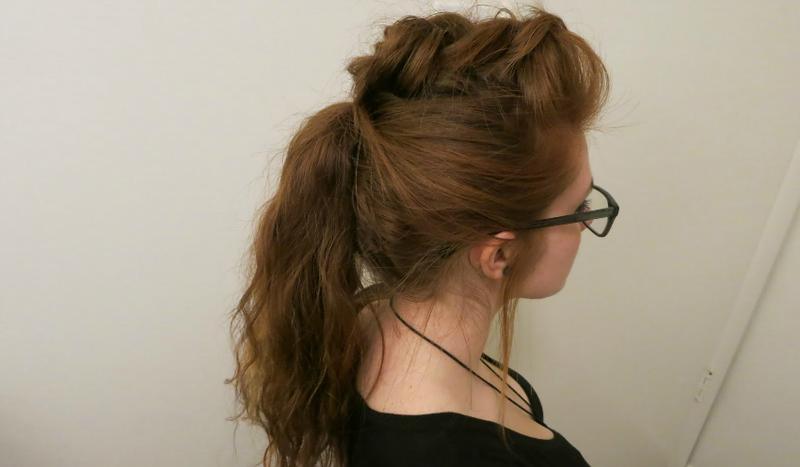 5 model kepang rambut yang tidak biasa 5