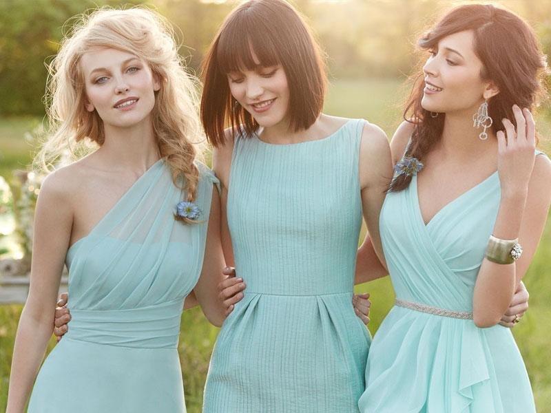 5 pilihan warna untuk gaun bridesmaid anda (b)