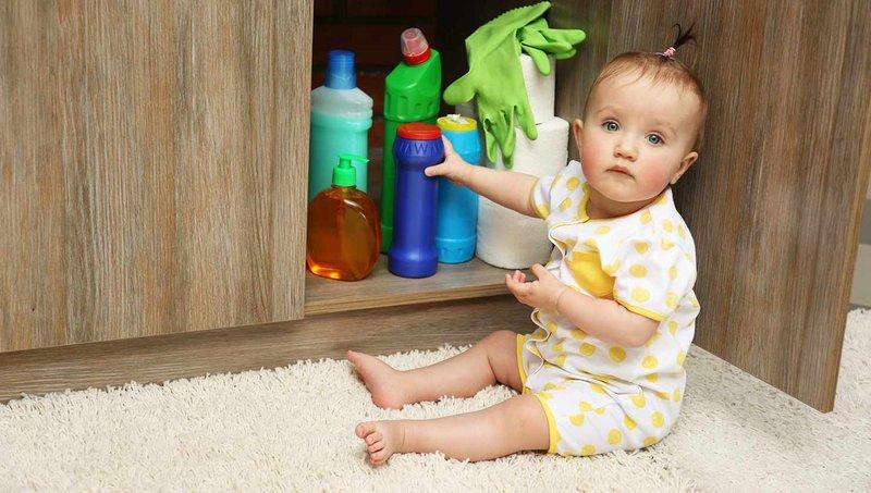 5 produk rumah tangga yang bisa membuat balita keracunan 1