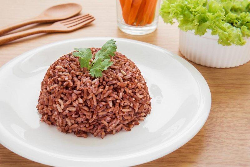 6 nasi merah