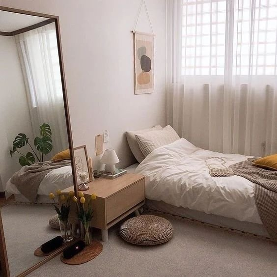Kamar minimalis remaja korea