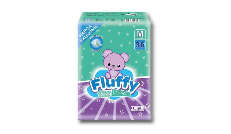 Review Fluffy Baby Diapers