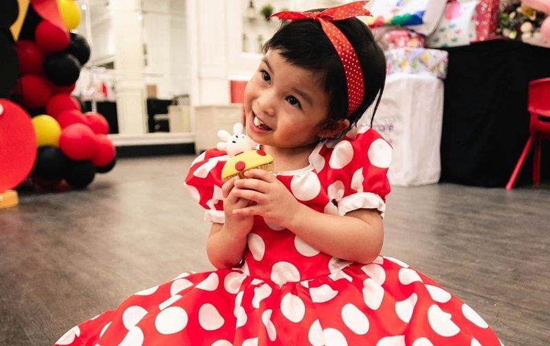 Bertema Mickey Mouse, Intip Perayaan Ulang Tahun ke-3 Nastusha Alinskie!