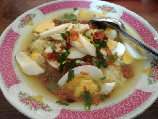 makanan khas madiun soto kondang